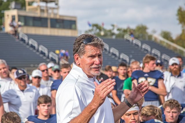 Coach Steve Johnson