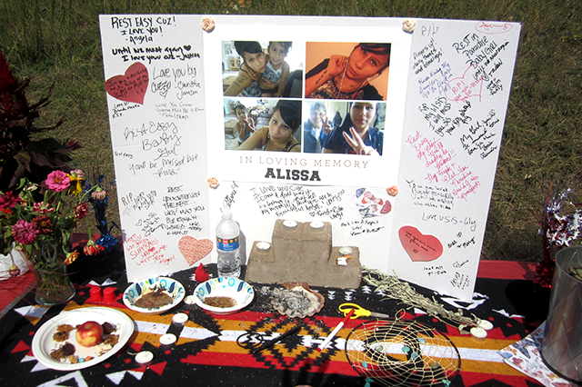 A memorial for Alissa Skipintheday