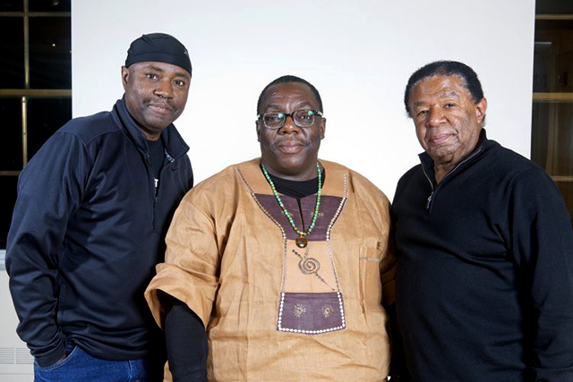 Cyrus Chestnut Trio performing tonight at Vieux Carré.