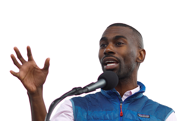 Civil rights activist DeRay Mckesson