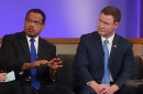 DFL nominee Keith Ellison and GOP nominee Doug Wardlow
