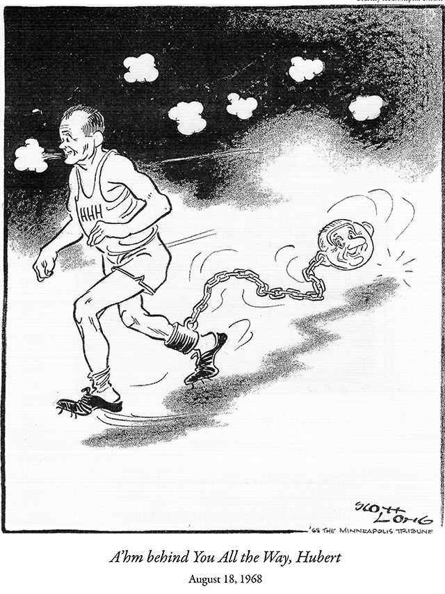 1968 editorial cartoon by Scott Long