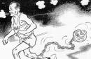 HHH editorial cartoon