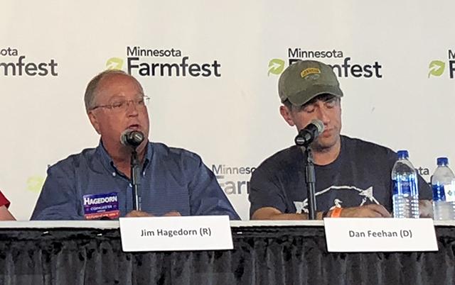 Jim Hagedorn and Dan Feehan