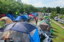 Hiawatha Avenue homeless encampment