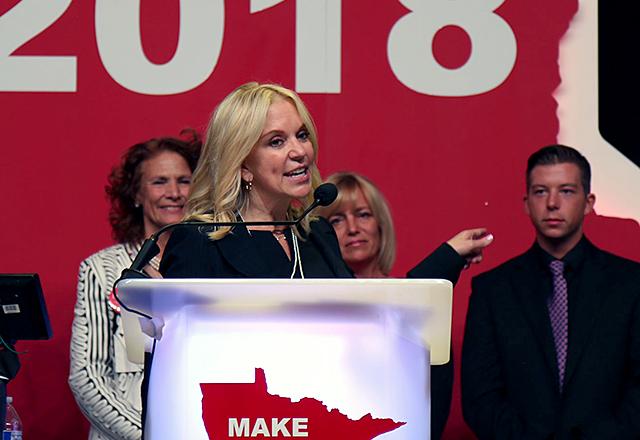 Senate candidate Karin Housley
