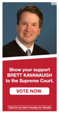 Republican U.S. Senate campaign web ad