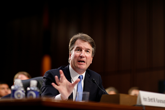 Supreme Court nominee Brett Kavanaugh testifies
