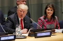 President Donald Trump, U.N. Ambassador Nikki Haley