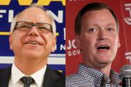 Live: Walz and Johnson debate
