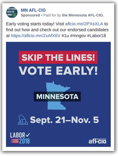 MN AFL-CIO ad