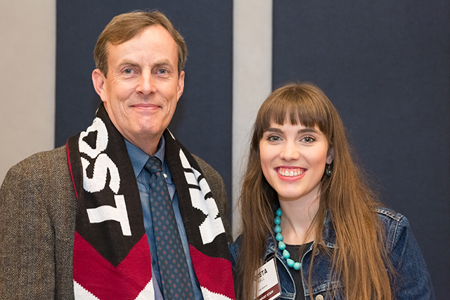 MinnPost state government reporter Peter Callaghan and data reporter Greta Kaul