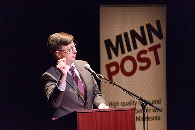 Introduction by MinnPost publisher and CEO Andy Wallmeyer