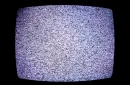 photo of telvision screen displaying static