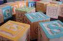 photo of alphabet blocks