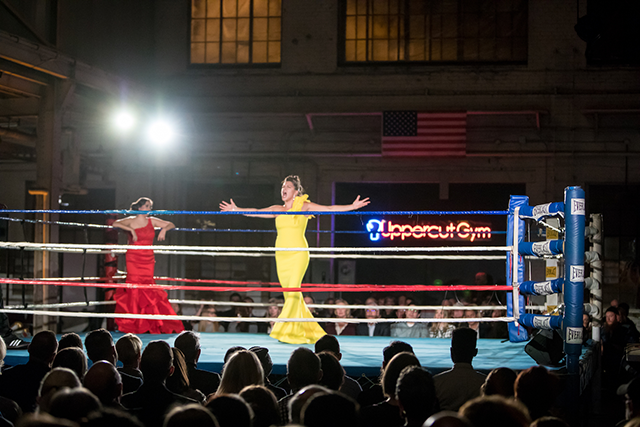 An image from last year's Diva Cage Match.