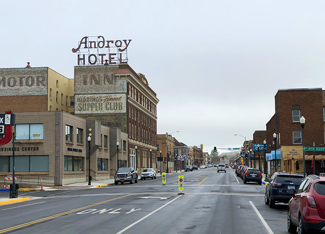 downtown Hibbing