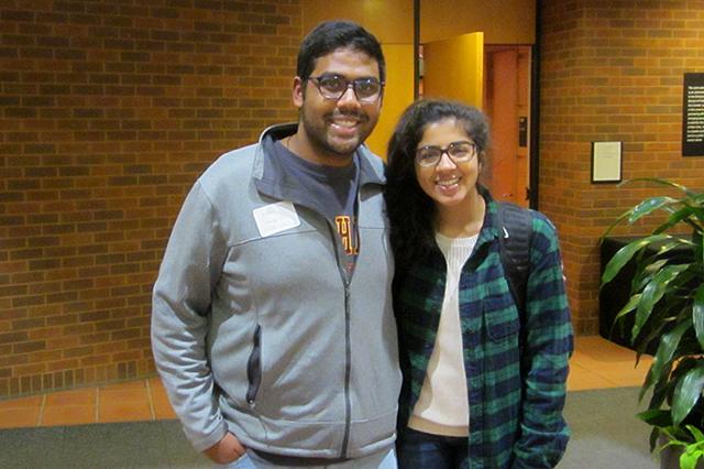 Nikil Badey and Natasha Sohni