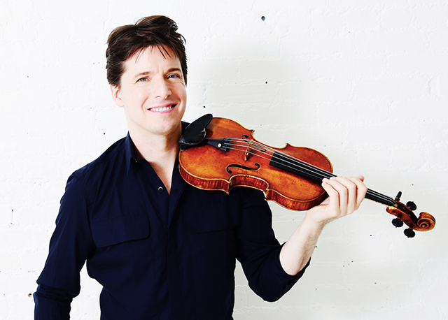 Joshua Bell will perform on Oct. 27, 2019, at the Schubert Club.