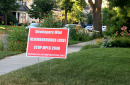 Stop Mpls 2040 sign