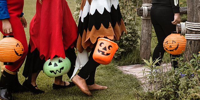 The danger of children aged 4 to 8 being killed by a car on Halloween was tenfold higher than on other nights.