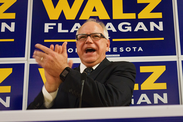 "Tim Walz on a single-payer system: ""I have said I think it is probably inevitable, because in every other industrialized nation, that's what they have."""