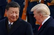 China's President Xi Jinping and President Donald Trump