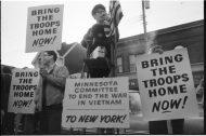 photo of vietnam war protest in dinkytown