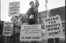 photo of vietnam war protest in dinkytown