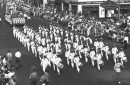 historical photo of 1942 parade