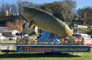 photo of preston minnesota trout sculpture