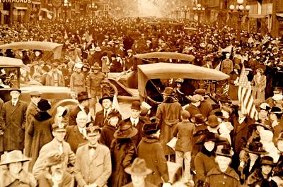 the armistice, Minneapolis