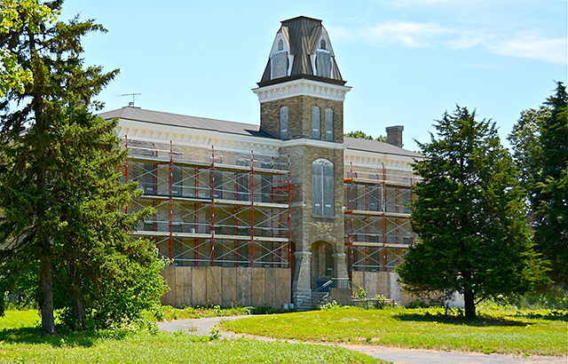 Clocktower Building, Fort Snelling