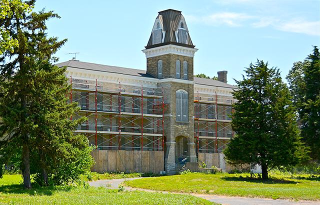 Clocktower Building, Fort Snelling