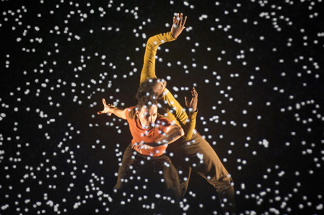 Compagnie Käfig-CCN dancers will perform in a 3-D digital landscape, where video sometimes accompanies motion and sometimes hinders it.