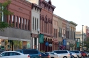 photo of buildings in downtown faribault
