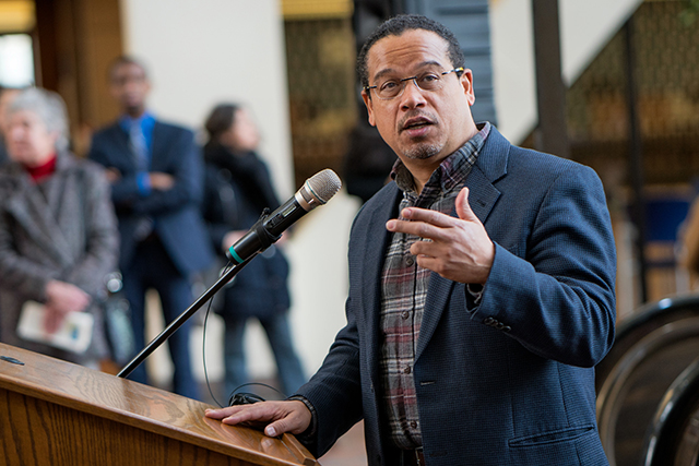 Keith Ellison's campaign is now focused on those undecided voters, especially undecided DFL-leaning voters.