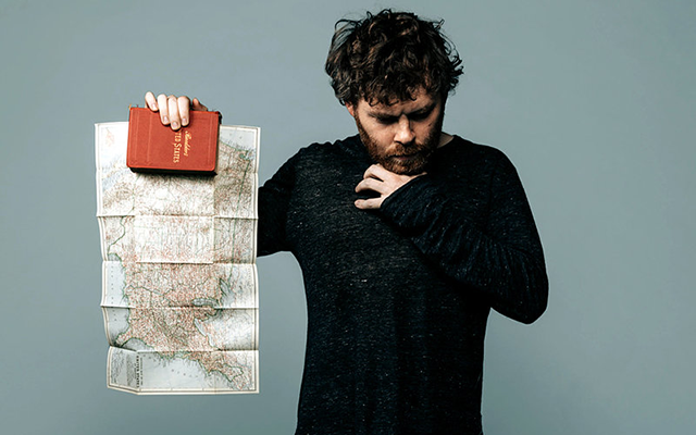 "Gabriel Kahane is touring behind his new album, ""The Book of Travelers."""