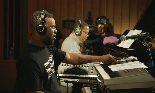 Keyboardists Robert Glasper and Herbie Hancock