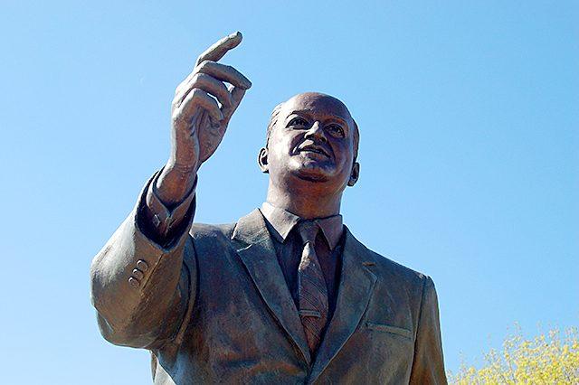 Hubert H. Humphrey statue