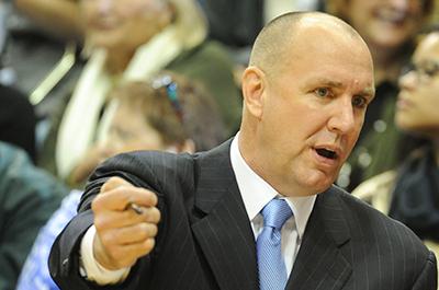 Minnesota Lynx assistant coach Jim Petersen