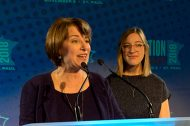 Amy Klobuchar and daughter Abigail