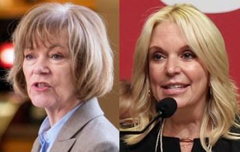 Sen. Tina Smith, state Sen. Karin Housley