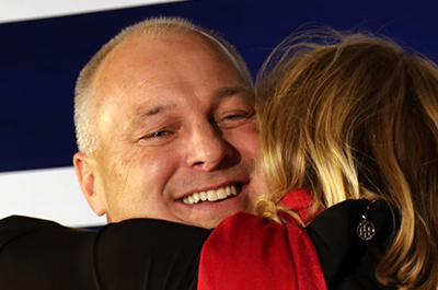 Pete Stauber election night