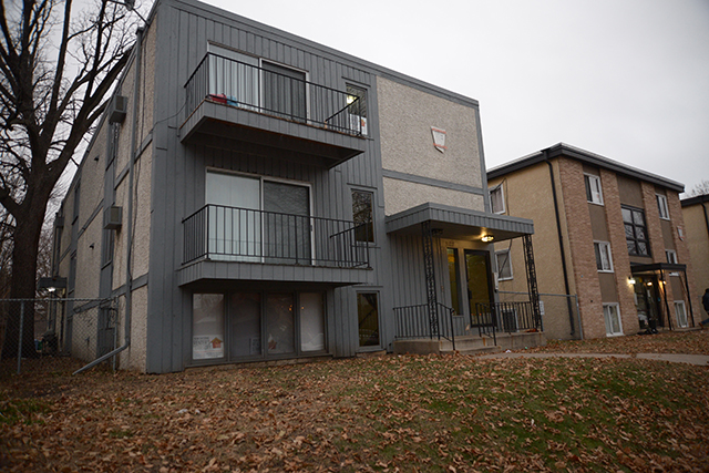 photo of exterior of apartment building