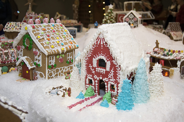 photo of gingerbread houses