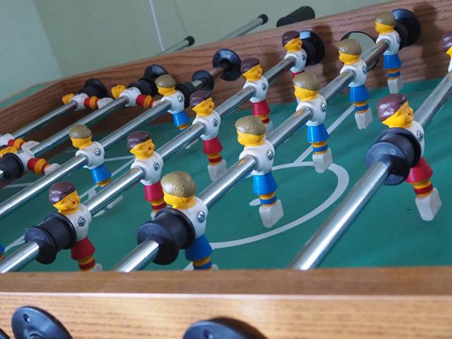 photo of foosball table