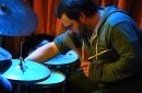 photo of drummer playing