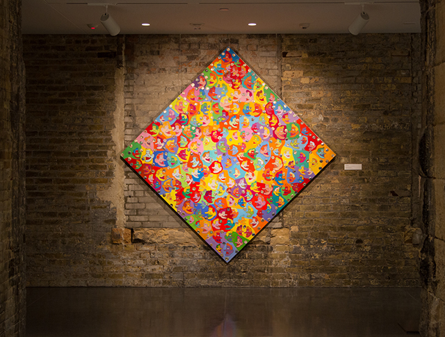 photo of artwork at the M