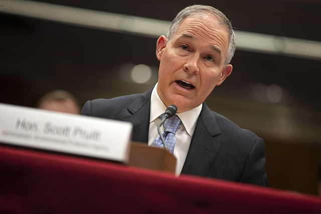 photo of scott pruitt
